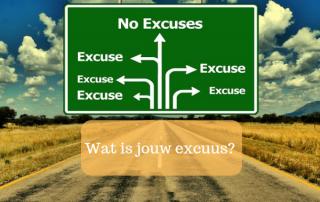 wat is jouw excuus